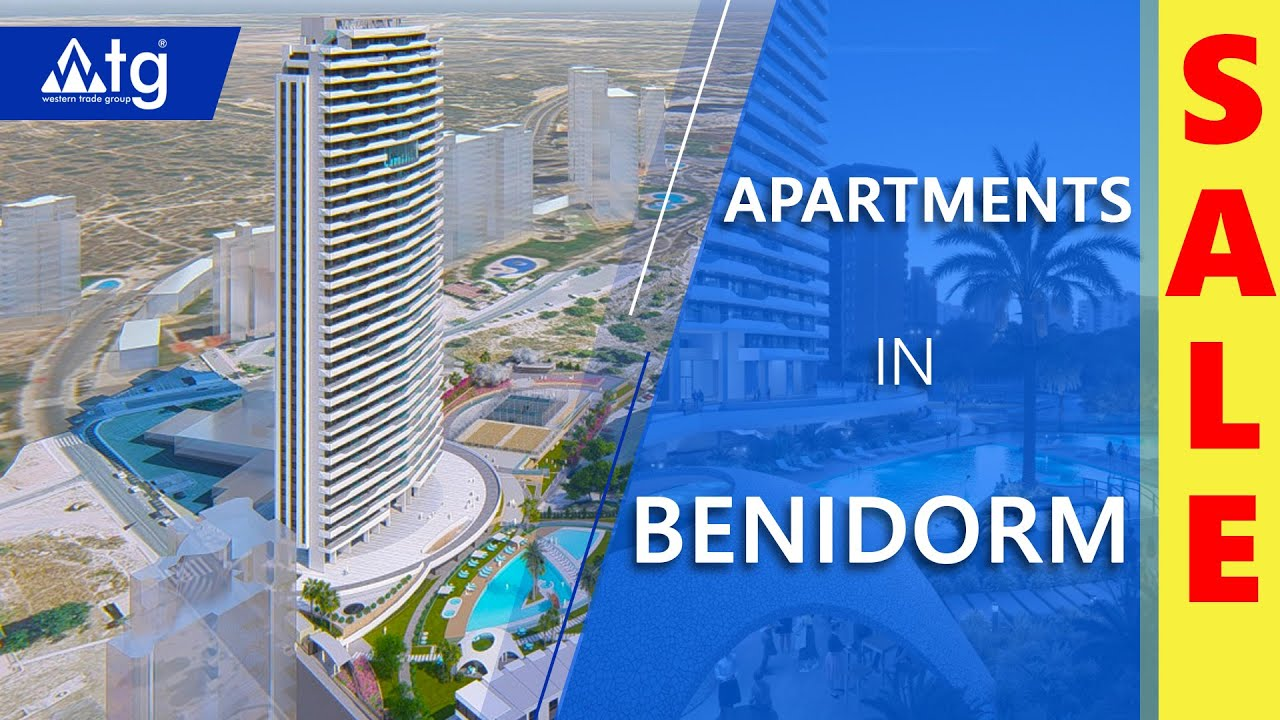Modern New Apartments with sea views in Benidorm ...
