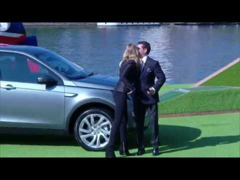 Rosie Huntington-Whiteley Brings New Land Rover Discovery Sport To Paris