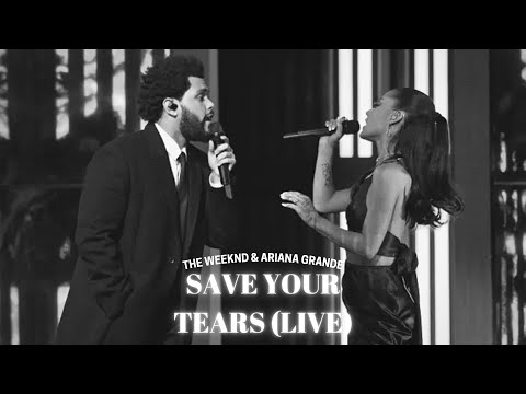 The Weeknd & Ariana Grande - Save Your Tears (Live at the iHeartRadio Awards)(Audio)