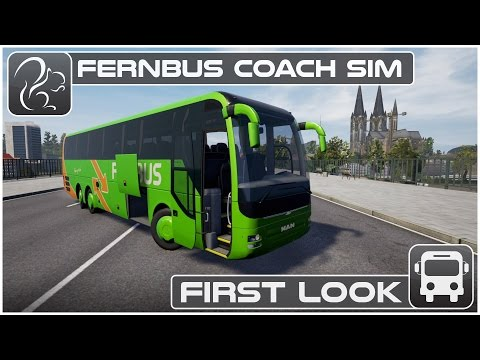 Fernbus Gameplay - First Look (Beta)