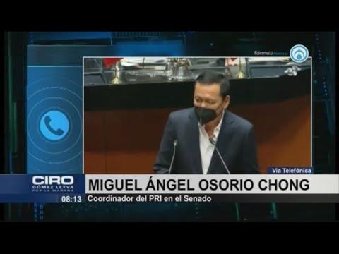 Cienfuegos será el primero en pedir investigación para probar su inocencia: Osorio Chong