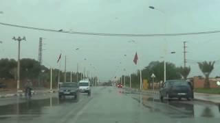 جولة بمدينة الرشيدية بعد عاصفة رعدية قوية