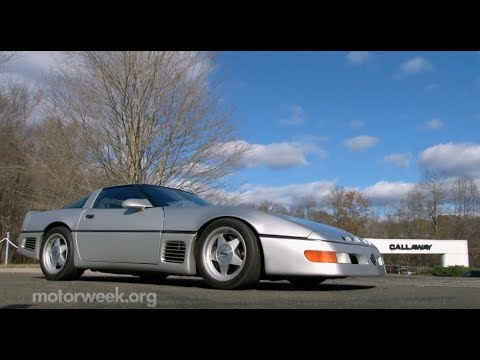 Auto World: Callaway Sledgehammer Corvette - YouTube