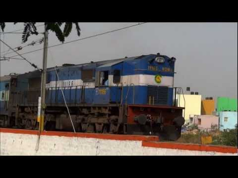 COIMBATORE- LTT EXPRESS DESCENDS SALEM LINE