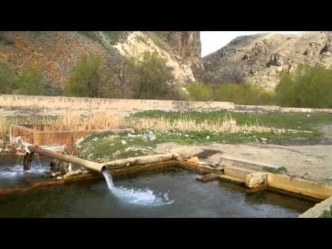 Armenia - Vorotan Warm Spring / Воротан теплый источник, Армения