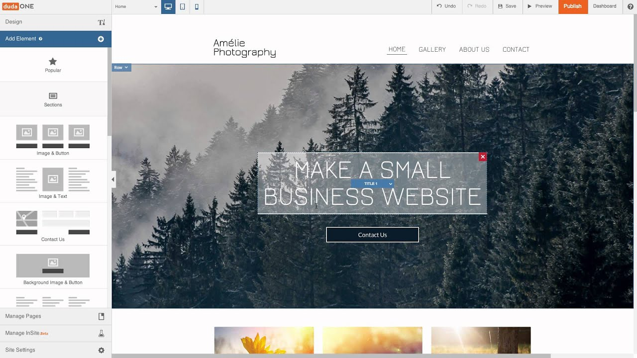 How to Make a Small Business Website in 10 minutes Step by Step WITHOUT Coding or Wordpress