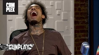 Gunplay on The Combat Jack Show Ep. 2 (Talking about Marijuana, Cocaine, and Dealing)