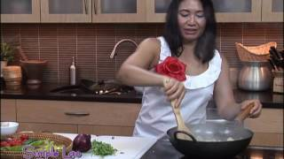 Simple Lao Cuisine Show54-2: Grilled Chicken, Green Curry Salmon, Stir-Fried Chicken Green Beans