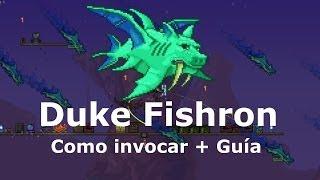 Duke Fishron (Como invocar + Pseudo-Guía) - Terraria 1.2.4 en español