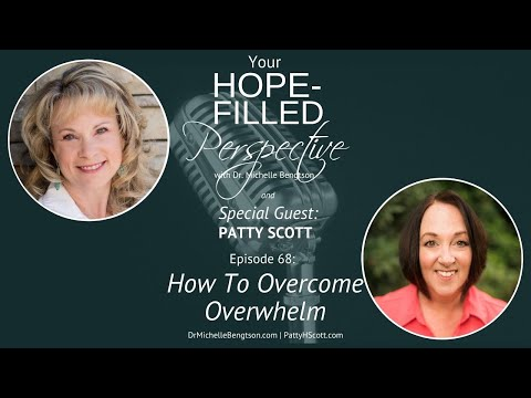 How To Overcome Overwhelm ep68