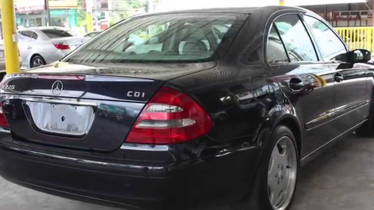 2002 mercedes benz e class e220 cdi 2 2 at youtube. Black Bedroom Furniture Sets. Home Design Ideas