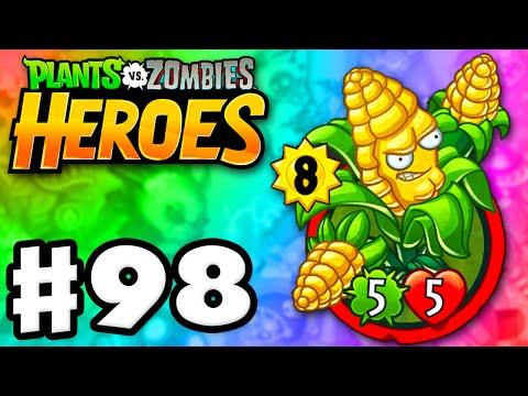 Plants vs. Zombies: Heroes - Gameplay Walkthrough Part 98 - Kernel Corn Legendary! (iOS, Android)