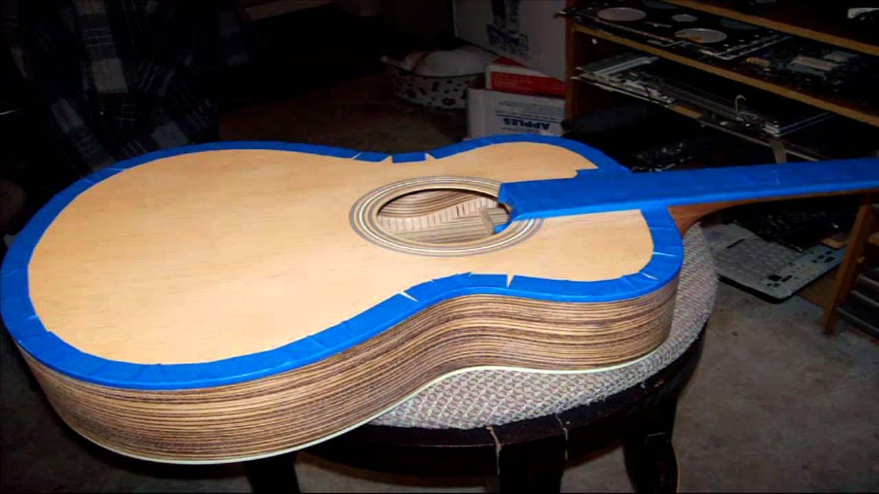 Diy Acoustic Guitar Kit Build