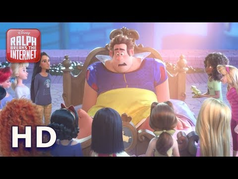 Disney Princesses Save Ralph Ralph Breaks The Internet Hd Youtube