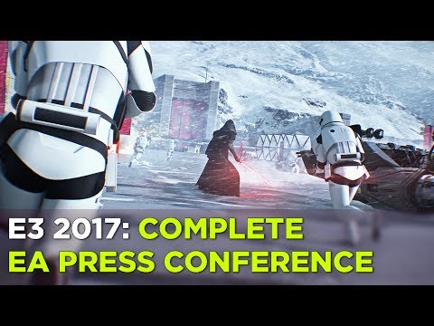 E3 2017: Watch the Complete EA Press Conference