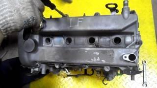 Фото двигатель мазда LF снимаем клапанную крышку