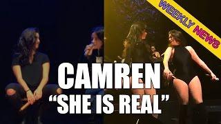 Camila habla de Lauren//Lauren con la camiseta de Camila y +// CAMREN (English subs)