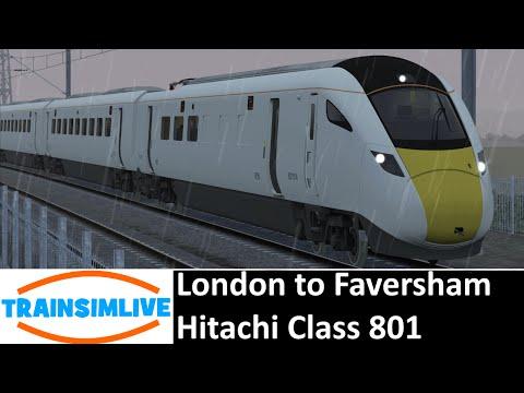 Train Simulator 2015 - London Faversham, Class 801 |