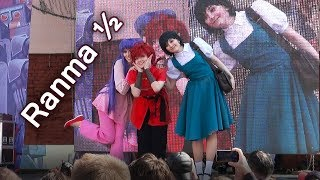 Ranma 1/2 cosplay - Ranma, Shampoo, Akane - 2017