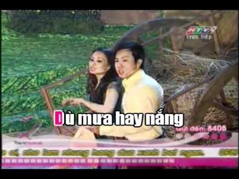 Duyen Que - Quoc Dai, Cam Ly - Thanh Trong [Karaoke]