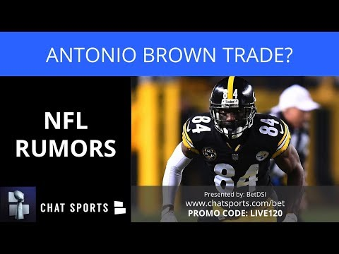 NFL Rumors: Antonio Brown Trade, Le'Veon Bell Latest, Brice Butler To Cowboys & Dan Bailey