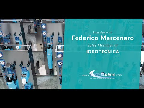 Video Interview with Federico Marcenaro, Sales Manager of Idrotecnica