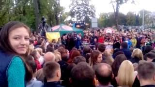 Караоке  на майдане  в Краматорске    24.09.2016 Финал