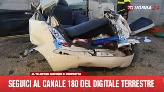 INCIDENTE MORTALE CANOSA DUE 19ENNI PERDONO LA VITA