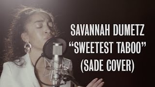 Savannah Dumetz - Sweetest Taboo (Sade Cover) - Ont Sofa Live at YouTube Space London