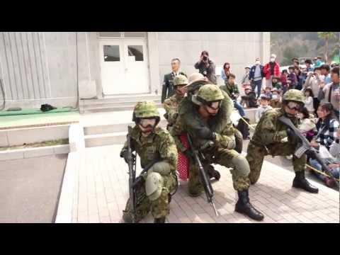 2013年・レンジャー訓練展示(陸上自衛隊高知駐屯地)
