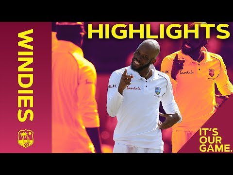 Roston Chase Wraps up Huge Win   Windies vs England 1st Test Day 4 2019 - Highlights