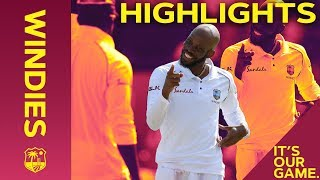 Roston Chase Takes 8-60 To Wrap Up Huge Win | Windies vs England 1st Test Day 4 2019 - Highlights