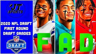 NFL Draft First Round Draft Grades And Reactions | NFL Draft Grades | 2020 NFL Draft