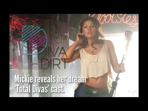 Mickie James Reveals Her Dream 'Total Divas' Cast