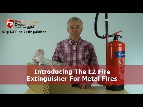 Introducing The L2 Fire Extinguisher For Metal Fires