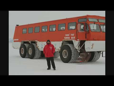 Arriving at McMurdo Station, Antarctica 3/18/17