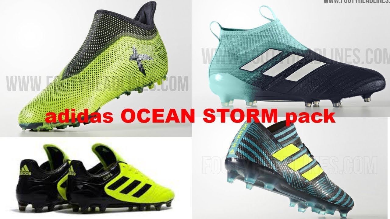 finest selection 21daa 42754 adidas OCEAN STORM pack - YouTube