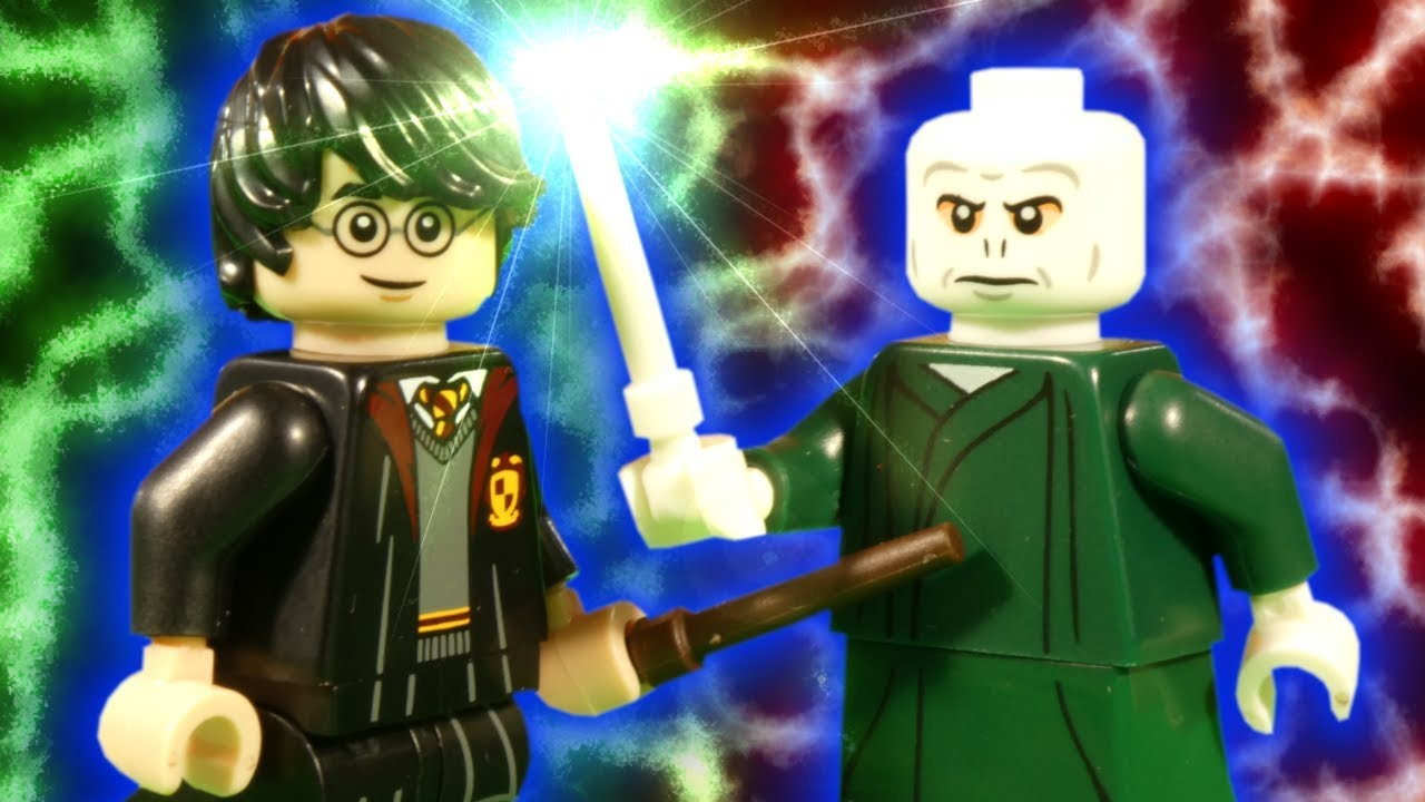 LEGO HARRY POTTER - VOLDERMORT SHOWDOWN - WIZARDING WORLD STOP MOTION