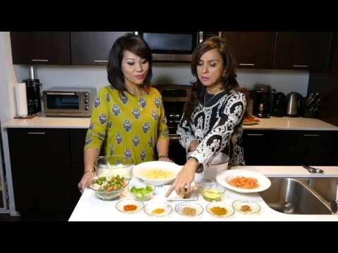 Vegetable Pulao ( Rice) with Pan-Fried Fish –by b.a.m