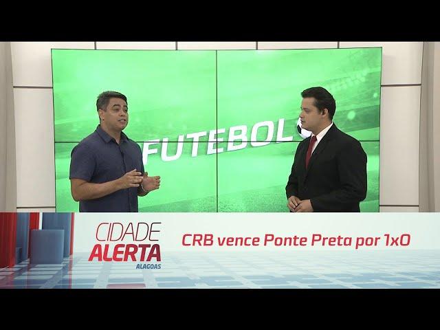 Futebol: CRB vence Ponte Preta por 1x0