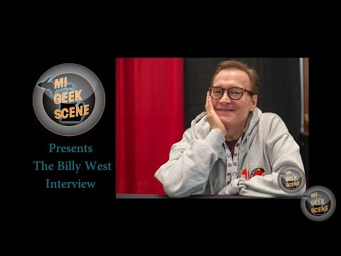 Billy West Futurama at the Cherry Capital Comic Con 2018