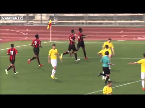 Nice 3-2 Le Pontet (CFA) : les buts