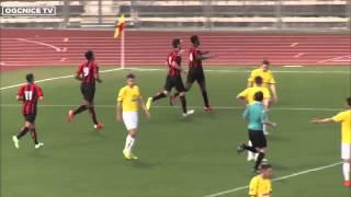 Jeunes 14-15 - Nice 3-2 Le Pontet (CFA) : les buts