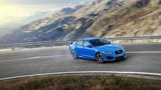 Jaguar_XFR-S - The Hills Are Alive ! Wow !