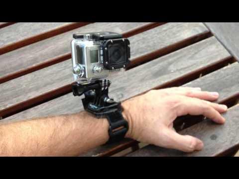 GoPro Hero3 Wrist Housing - Velcro muñeca - Do it yourself