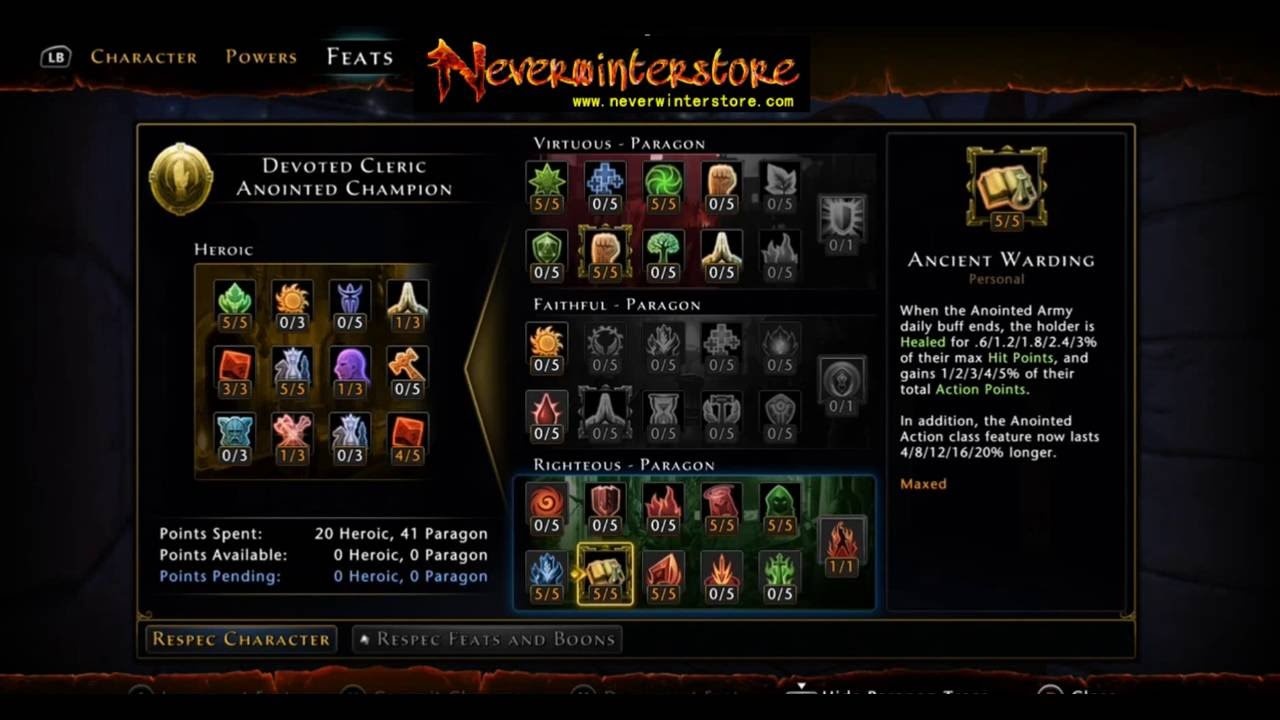 Neverwinter devoted cleric buff build youtube.
