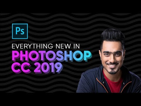 Top 20 NEW Features & Updates EXPLAINED! - Photoshop CC 2019
