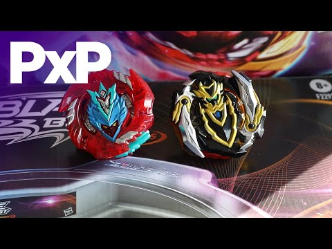 Usher in 'BEYBLADE BURST' Season 5 with new Hasbro toys! | A Toy Insider Play by Play