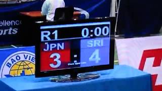 第3回 アジア インドアゲームズ 1R 2R