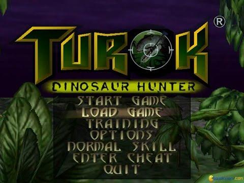 Turok: Dinosaur Hunter gameplay (PC Game, 1997)
